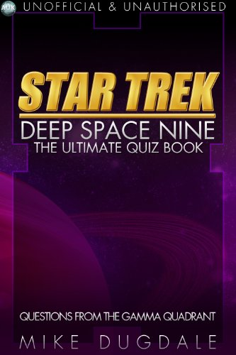 Star Trek: Deep Space Nine quiz book by Mike Dugdale