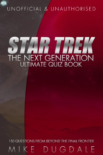 Star Trek: The Next Generation quiz book by Mike Dugdale